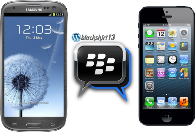 BBM on Android and iOS