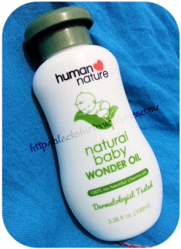 Human ♥ Nature Natural Baby Wonder Oil