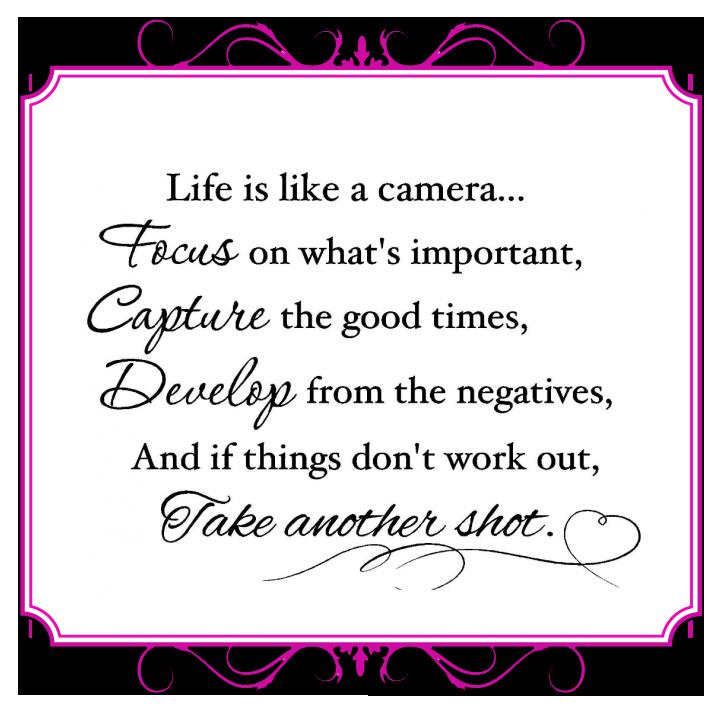 life camera quote