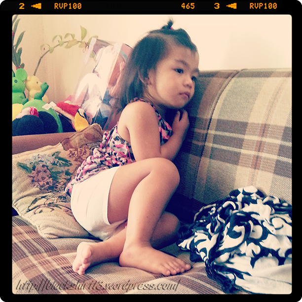 Francine emote while watching Up