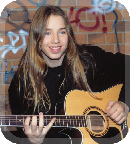 teenage Gil Ofarim