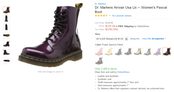 Do Doc Martens Shoes Come In Half Sizes
