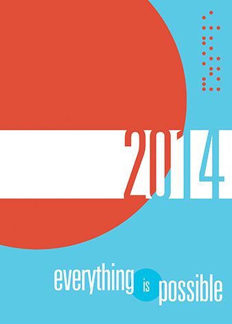 2014 Everything Is Possible planner