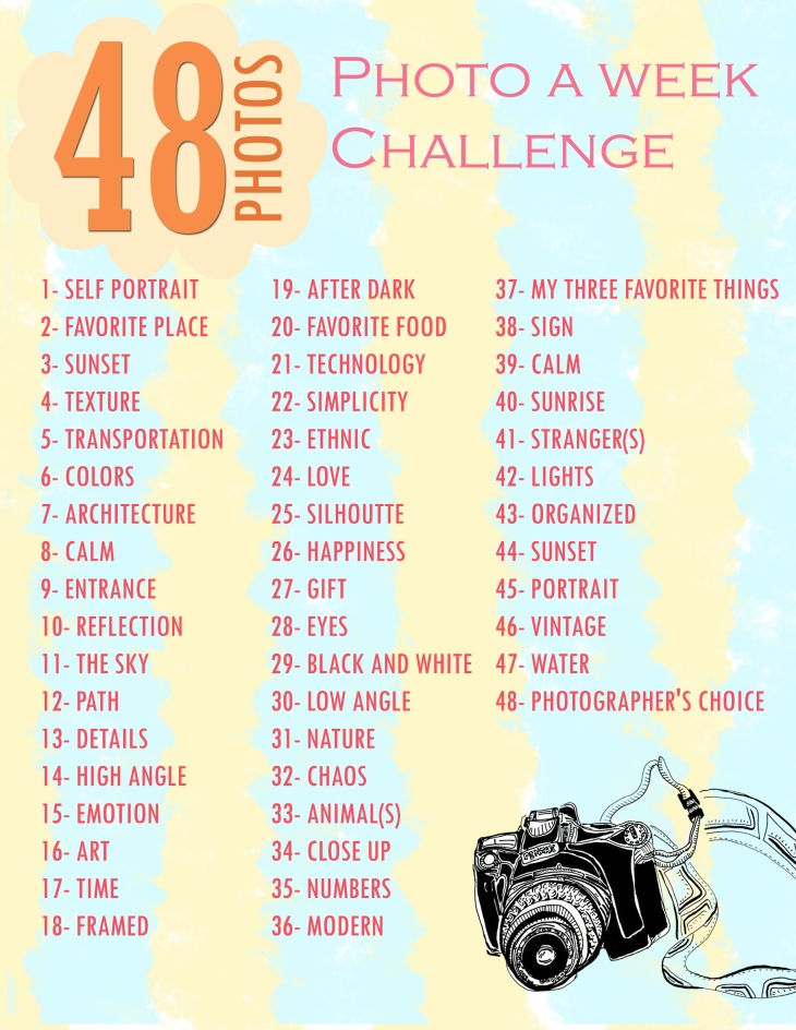 48 Photos: A Photo Challenge