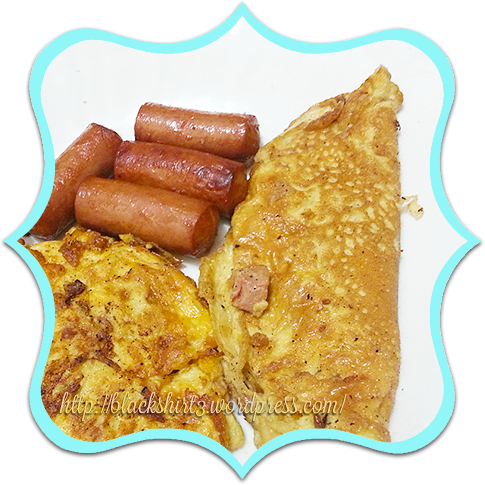 sausage omelettes