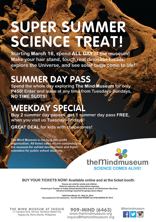 TMM Super Summer Science Treat