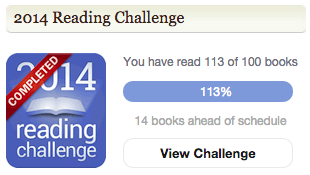 completed 2014 GR reading challenge